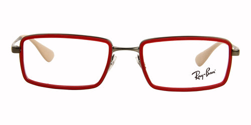 Ray-Ban RX6337 Red / Clear Lens Eyeglasses