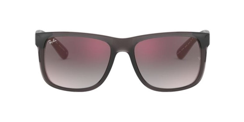 Ray Ban - RB4165 Gray Square Unisex Sunglasses - 51mm