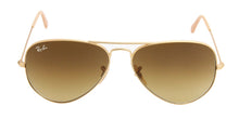 Ray Ban - Aviator Gold/Brown Gradient Unisex Sunglasses - 58mm