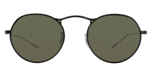Oliver Peoples M-4 30th Black / Green Lens Sunglasses