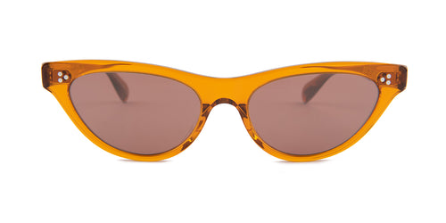 Oliver Peoples Zasia Brown / Brown Lens Sunglasses