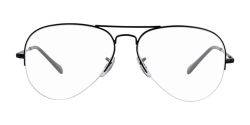 Ray Ban Rx - RX6589 Black Aviator Unisex Eyeglasses - 59mm