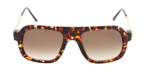 Thierry Lasry Kurupty Tortoise / Brown Lens Sunglasses