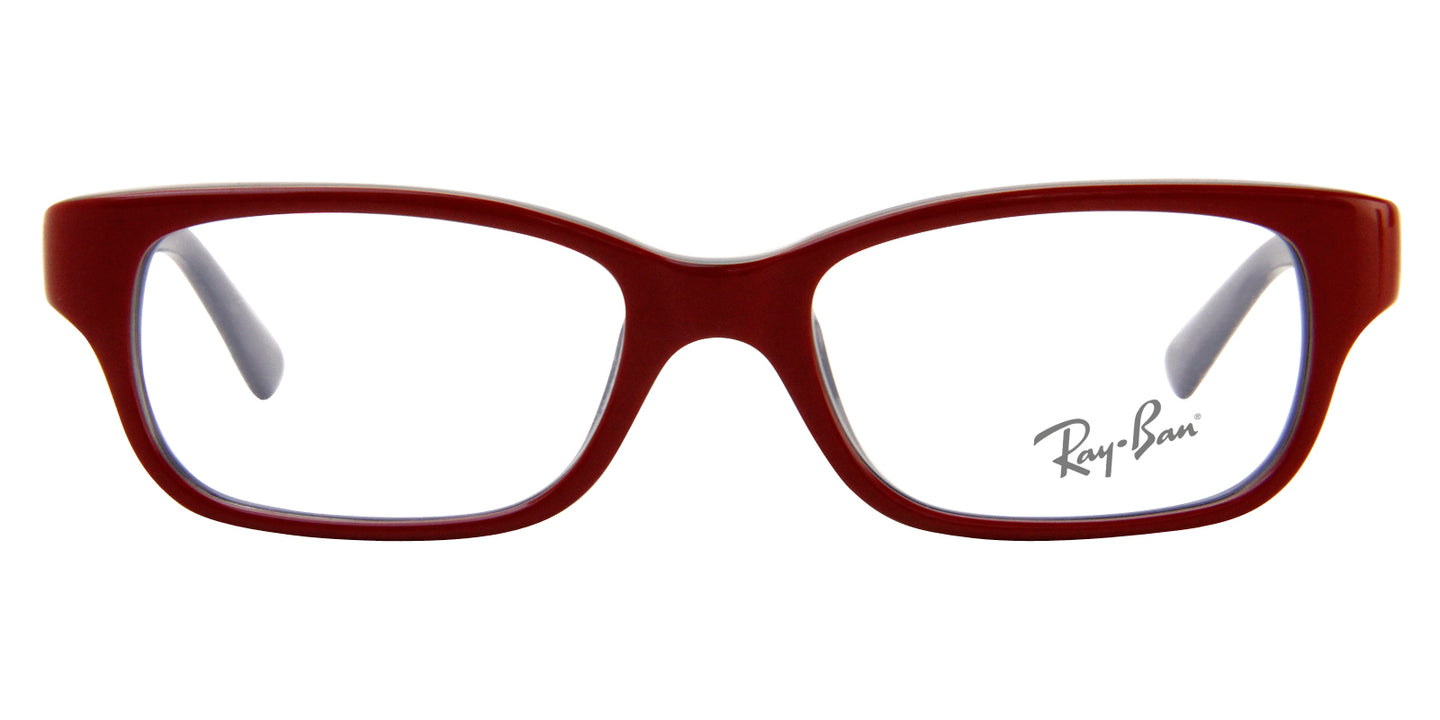 Ray Ban Jr - RY1527 Red Rectangular Kids Eyeglasses - 45mm