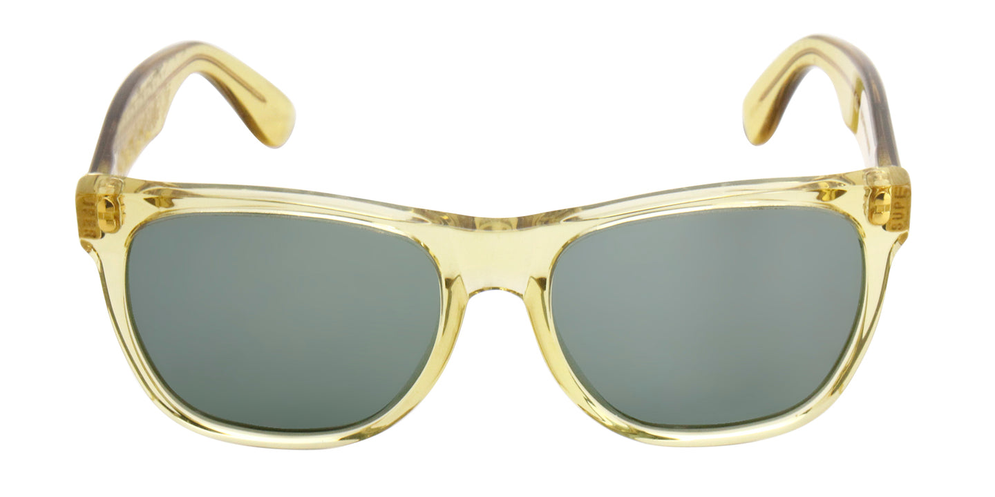 Retrosuperfuture - Basic Yellow Oval Men, Women Sunglasses - mm