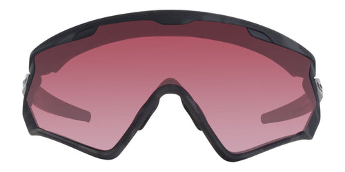 Oakley Wind Jacket 2.0 Black / Purple Lens Sunglasses