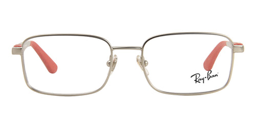 Ray Ban Rx - RY1043 Silver Rectangular Kids Eyeglasses - 48mm