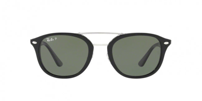 Ray Ban - RB2183 Black/Gray Square Women Sunglasses - 53mm