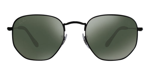 Ray Ban - RB3548NM Black Oval Unisex Sunglasses - 51mm