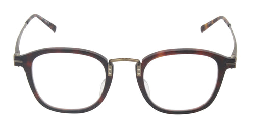 Matsuda - M2015 Tortoise/Clear Rectangular Unisex Eyeglasses - 47mm