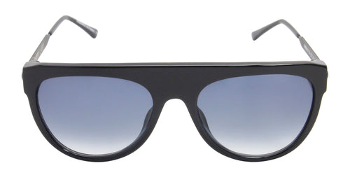 Thierry Lasry - Vandaly Black Oval Women Sunglasses - 57mm