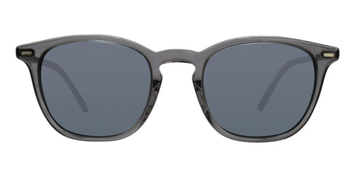 Oliver Peoples Heaton Grey / Blue Lens Sunglasses