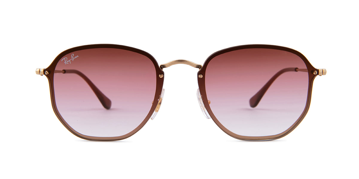 Ray Ban RB3579N Gold / Pink Lens Sunglasses