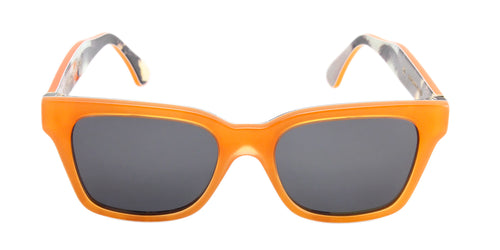 Retrosuperfuture - America Orange Rectangular Women Sunglasses - 51mm