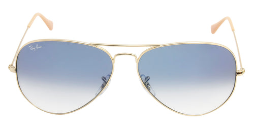 Ray Ban - Aviator Gradient Gold/Blue Gradient Unisex Sunglasses - 62mm