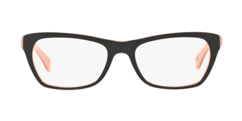 Ray Ban Rx - RX5298 Black / Pink Square Women Eyeglasses - 51mm