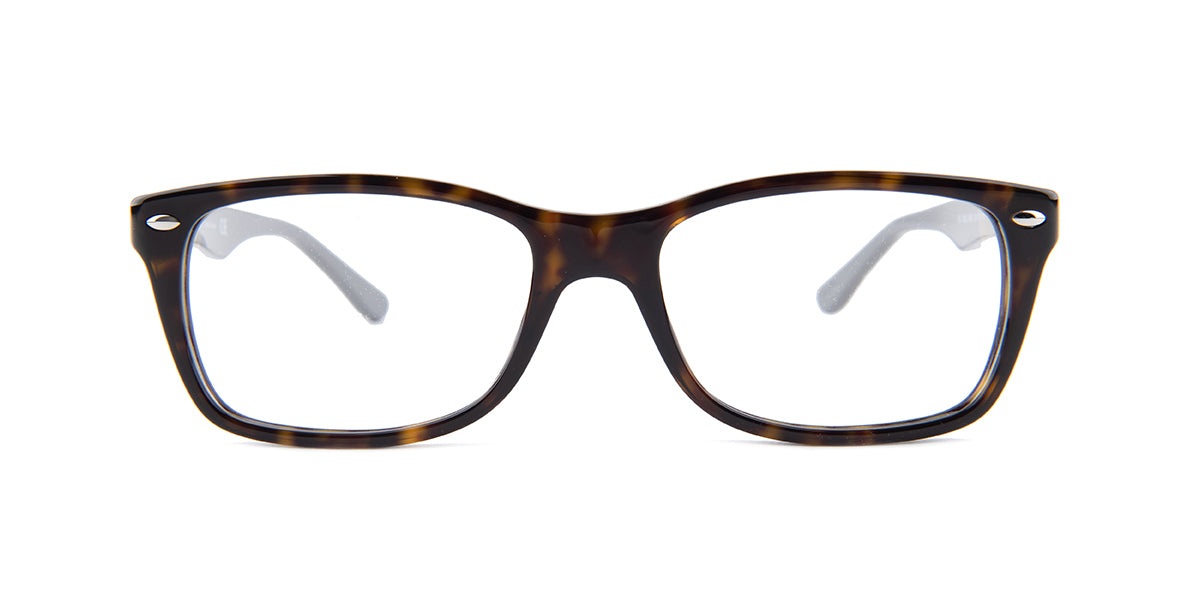 Ray Ban Rx - RX5228 Havana Square Women Eyeglasses - 53mm