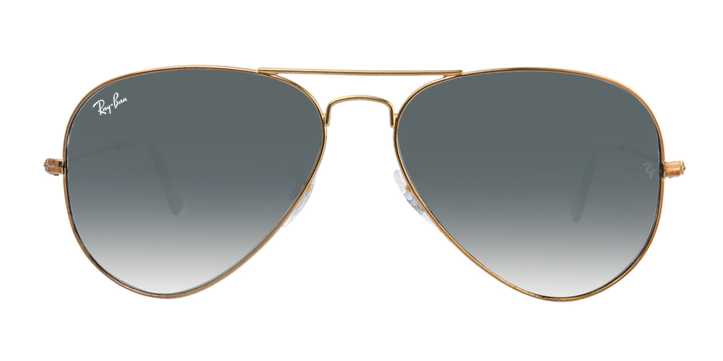 Ray Ban - Aviator Gradient Bronze/Green Gradient Unisex Sunglasses - 58mm