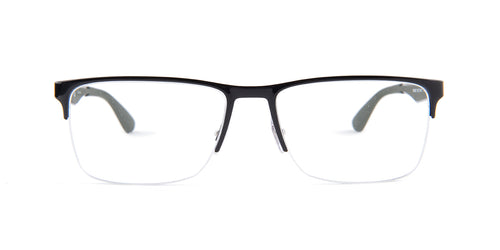 Ray-Ban Rx RX6335 Black / Clear Lens Eyeglasses