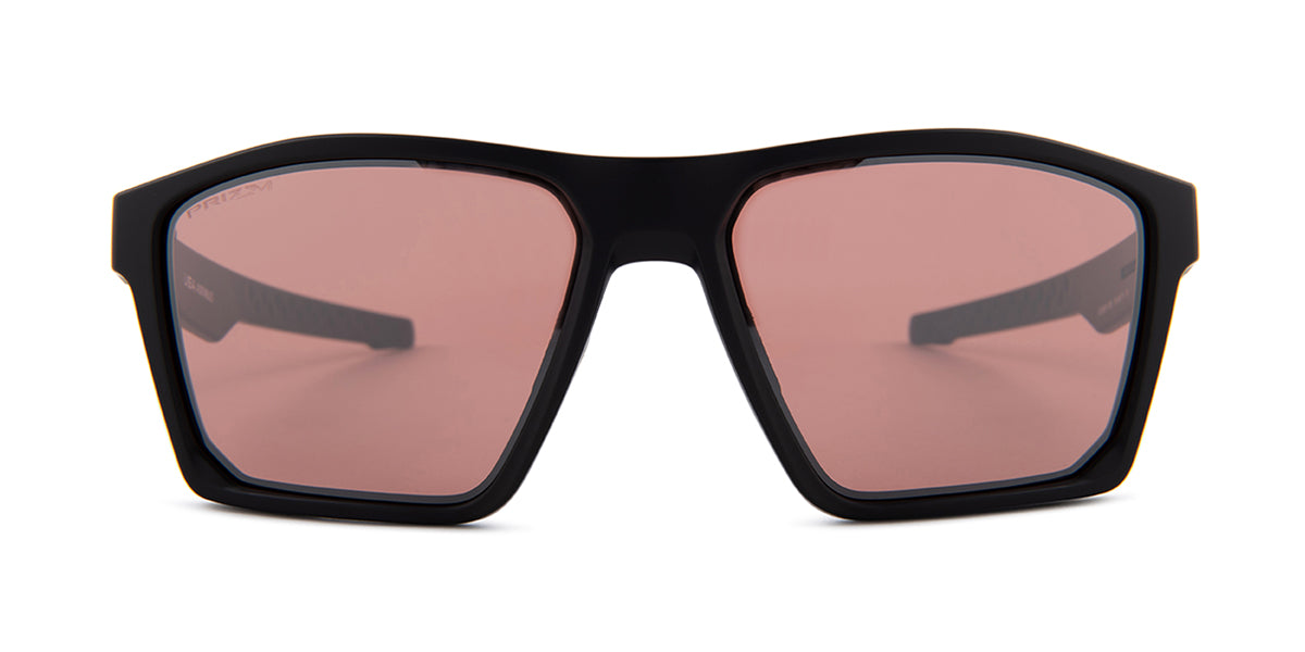 Oakley - Targetline Black/Pink Square Women Sunglasses - 58mm