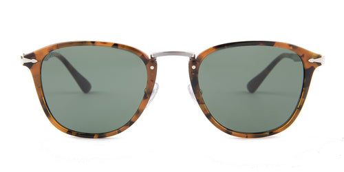 Persol Calligrapher Edition Brown / Gray Lens Sunglasses