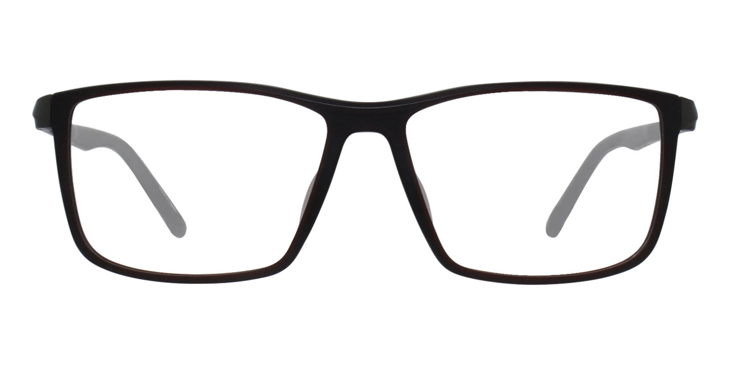 Porsche Design P8328 Red / Clear Lens Eyeglasses