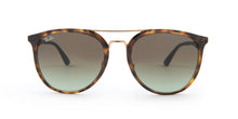 Ray Ban - RB4285 Havana/Brown Gradient Aviator Women Sunglasses - 55mm