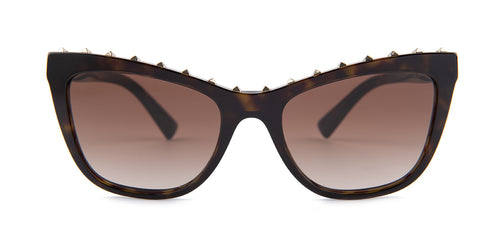 Valentino - VA4022 Tortoise Cat-Eye Women Sunglasses - 54mm