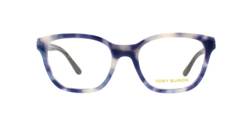 Tory Burch TY2073 Blue / Clear Lens Solid Polarized Eyeglasses