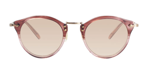 Oliver Peoples OP-505 Gold Rose / Rose Lens Eyeglasses