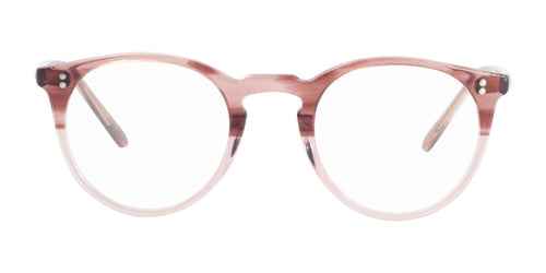 Oliver Peoples O'Malley Pink / Clear Lens Eyeglasses