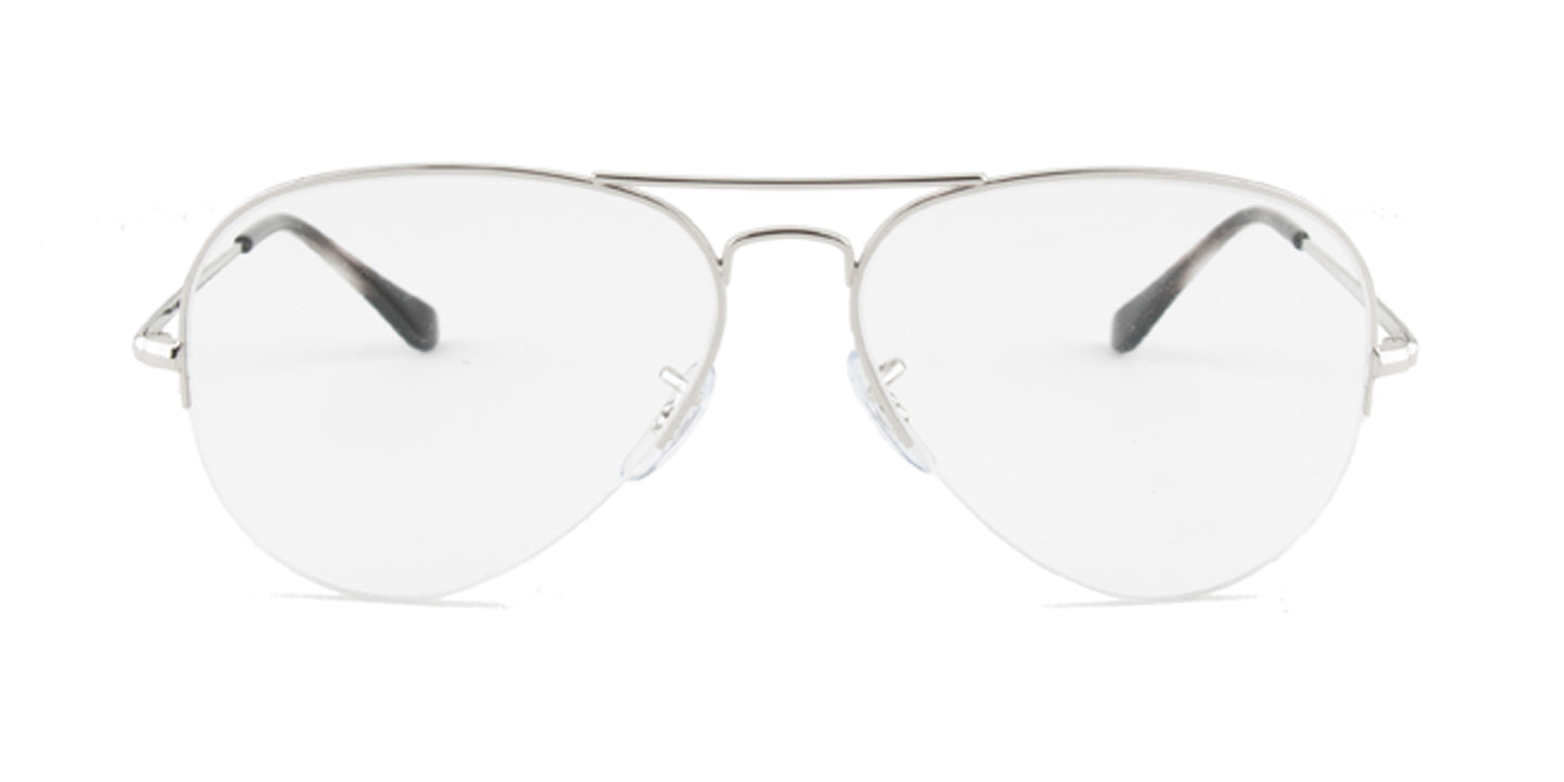 Ray-Ban RX6589 Silver / Clear Lens