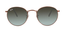 Ray Ban - Round Metal Brown/Gray Gradient Oval Unisex Sunglasses - 50mm