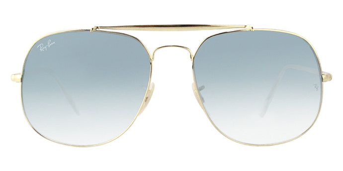 Ray Ban - RB3561 Gold/Blue Gradient Oval Unisex Sunglasses - 57mm