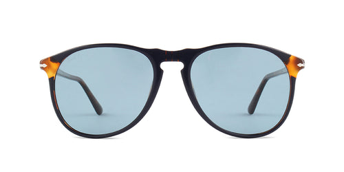 Persol PO6649SM Blue / Green Lens Solid Polarized Sunglasses