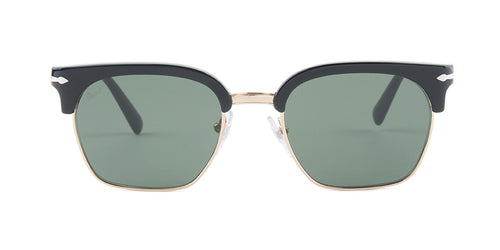 Persol PO3199S Black / Green Lens Sunglasses