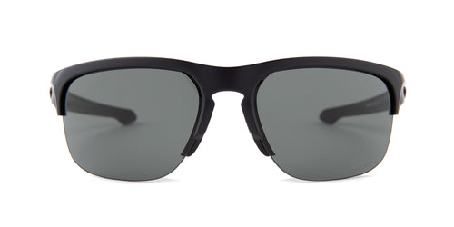 Oakley - OO9413-01 Black Semi-Rimless Unisex Sunglasses - 65mm