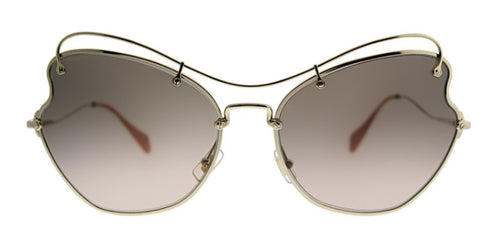 Miu Miu MU56R Gold / Brown Lens Sunglasses