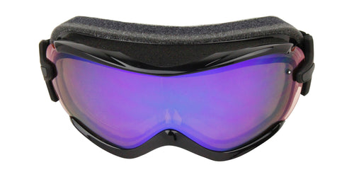 Smith Virtue Black Eclipse / Red Sensor Mirror Lens Goggles
