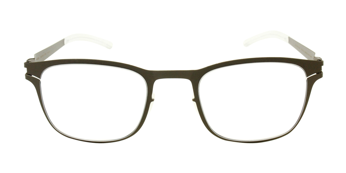 Mykita Davis Brown / Clear Lens Eyeglasses
