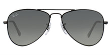Ray Ban Jr - RJ9506S Black Aviator Kids Sunglasses - 50mm