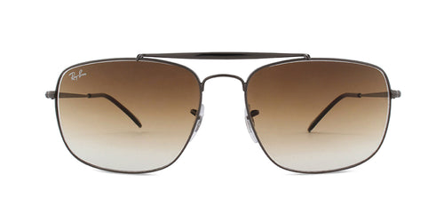 Ray Ban - RB3560 Gunmetal Rectangular Unisex Sunglasses - 61mm