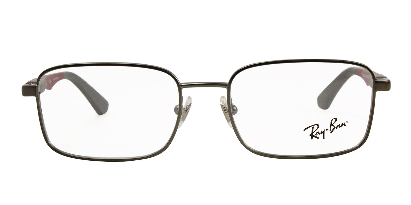 Ray Ban Jr - RY1043 Gray Rectangular Unisex Eyeglasses - 48mm