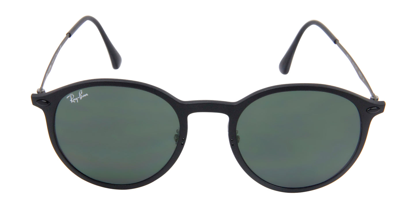 Ray Ban - RB4224 Black/Green Oval Unisex Sunglasses - 49mm