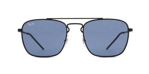Ray Ban - RB3588 Black/Blue Square Men Sunglasses - 55mm