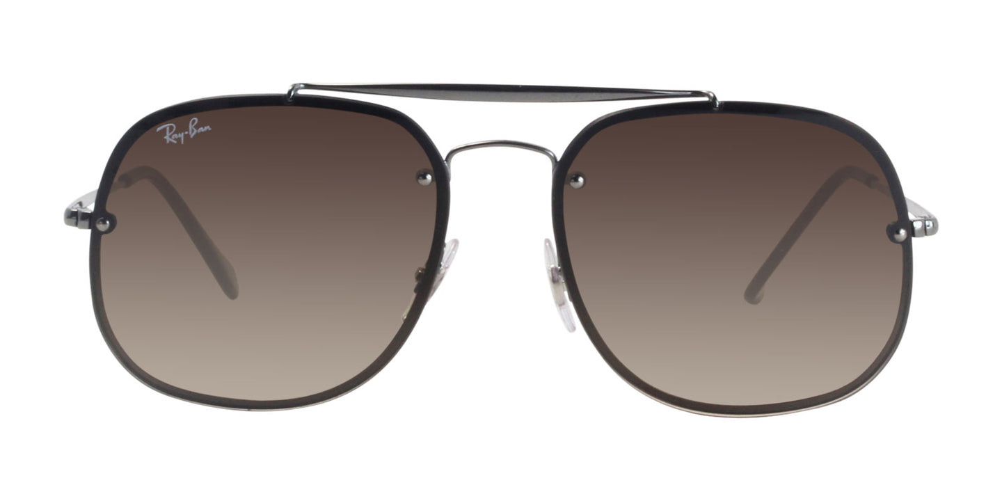 Ray Ban - RB3583N Gray Aviator Unisex Sunglasses - 58mm
