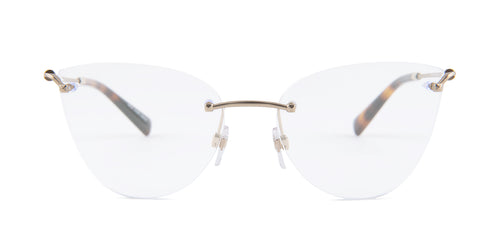 Valentino - VA1012 Matte Light Gold  Women Eyeglasses - 55mm