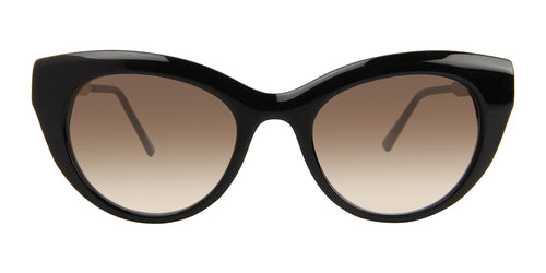Thierry Lasry Diamondy Black / Brown Lens Sunglasses