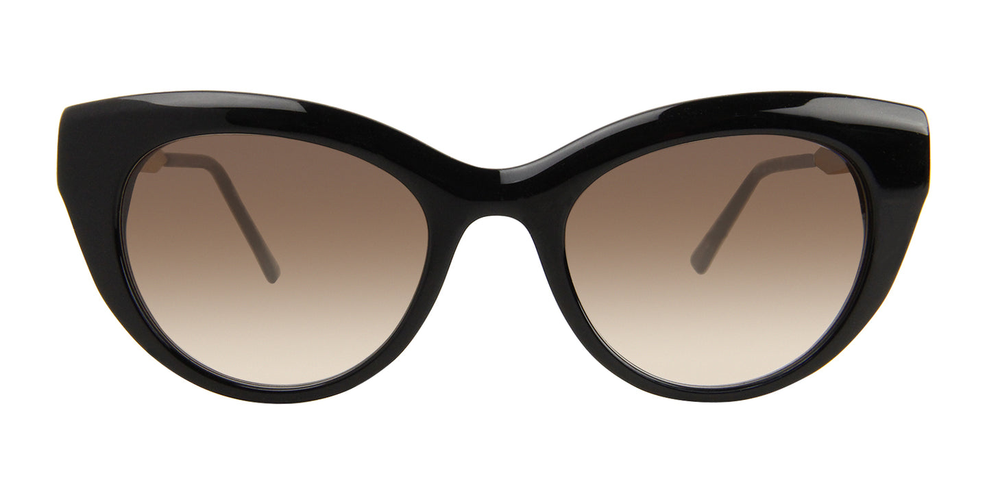 Thierry Lasry - Diamondy Black Cat-Eye Women Sunglasses - 53mm