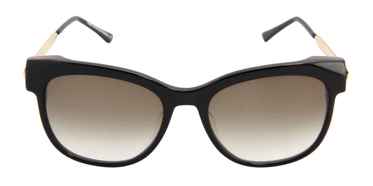 Thierry Lasry - Lippy Black Oval Women Sunglasses - 56mm